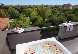 G*AA Architetti Hotel Manin Suite Jacuzzi terrazza