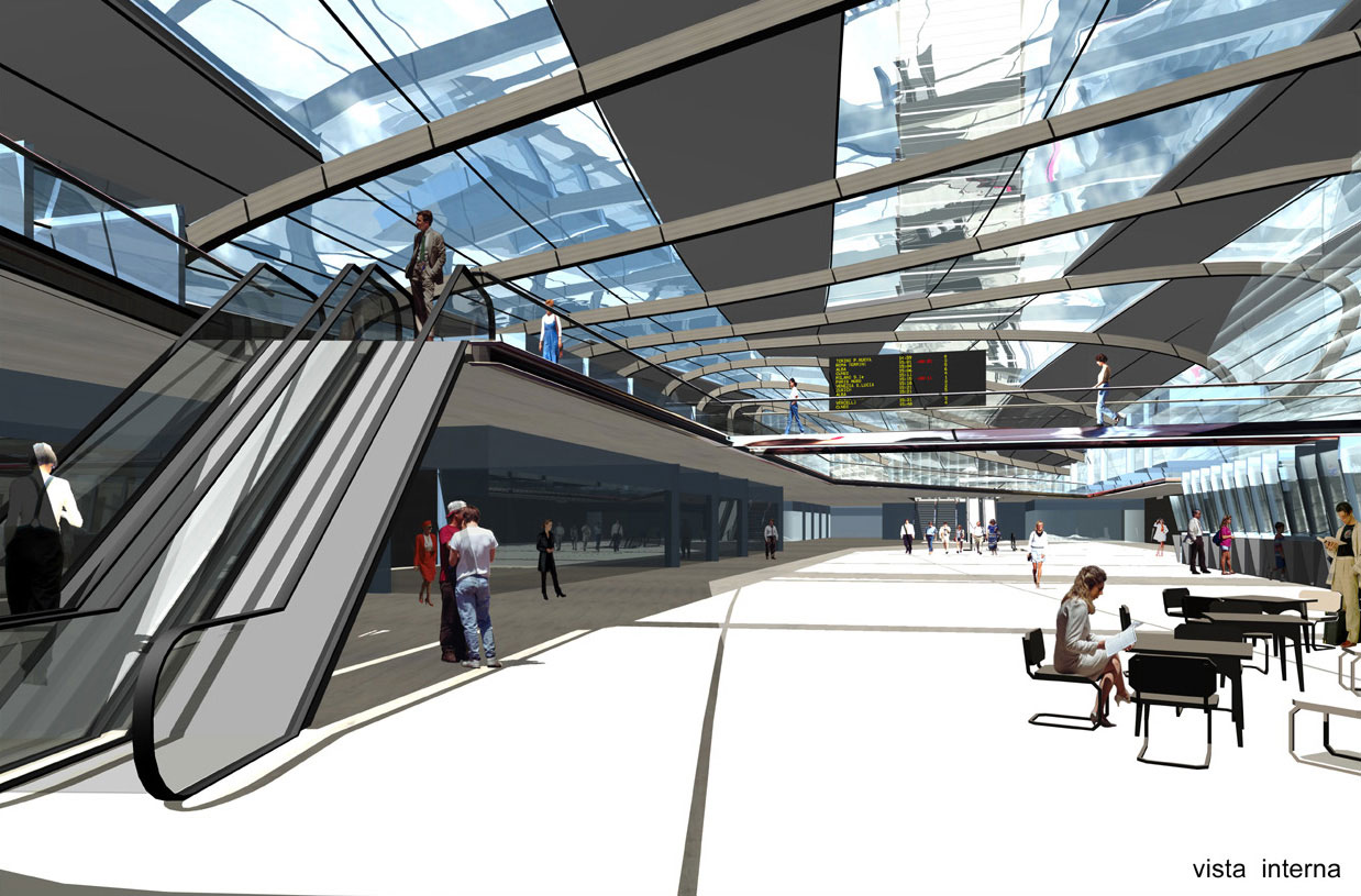 <strong>STAZIONE PORTA SUSA<span><b>view larger</b></span></strong><i>→</i>