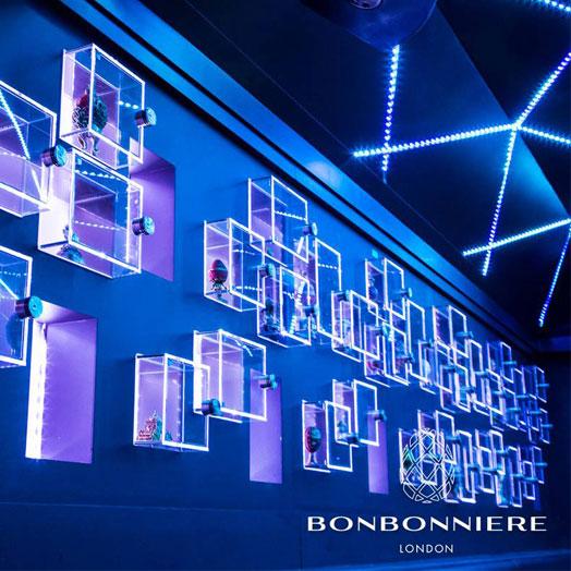 <strong>BONBONNIERE NIGHTCLUB LONDON<span><b>view larger</b></span></strong><i>→</i>