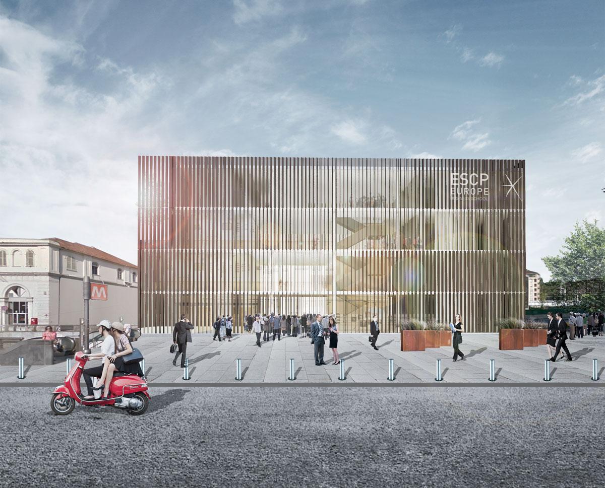 <strong>ESCP-Campus Universitario Torino<span><b>view larger</b></span></strong><i>→</i>