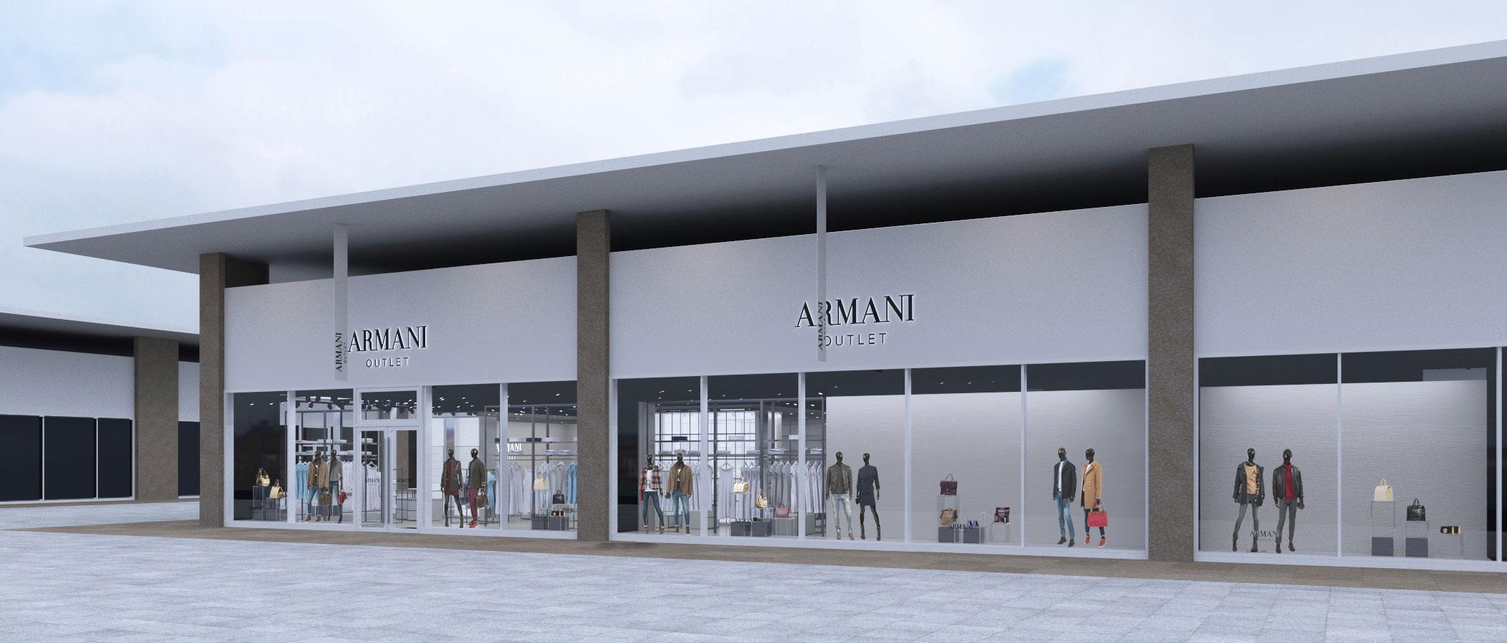 Milan Armani outlet refurbishment - outlet settimo torinese ...
