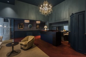<strong>CLERICI BOUTIQUE HOTEL – SPAZI COMUNI<span><b>in</b>Commerciali </strong><i>→</i>