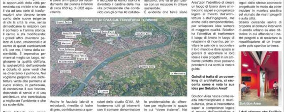 gaarchitetti, larepubblica, Italianarchitect, italianarchitecture, gaaproject, articolo del giornale la reppublica torino su gaa.it